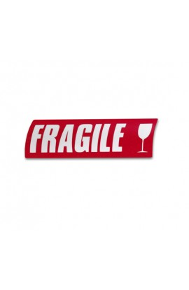 5 Étiquettes fragile
