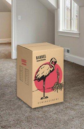 Carton de déménagement Barrel Grand Modèle - Carton de déménagement chez Top Carton