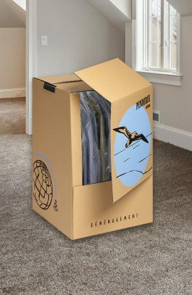 Carton Penderie Standard - Carton de déménagement chez Top Carton
