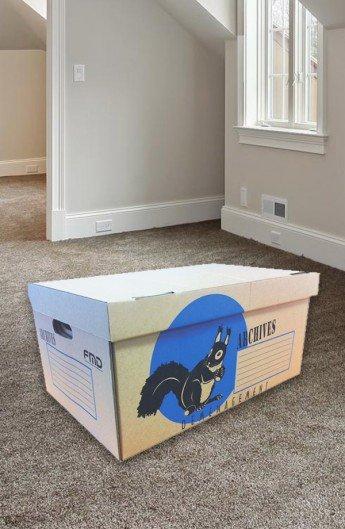 Carton Conteneur à Archives - Carton de déménagement chez Top Carton