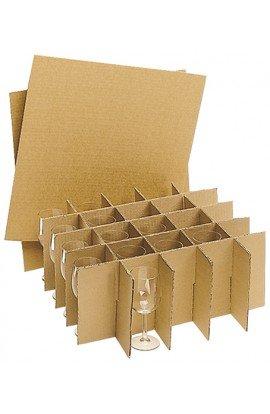 Pack Croisillons pour 100 verres - Carton de déménagement chez Top Carton