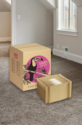 Carton + Croisillons Assiettes - Carton de déménagement chez Top Carton
