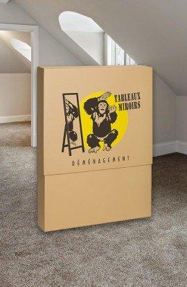 Carton télescopique pour Tableau - Carton de déménagement chez Top Carton