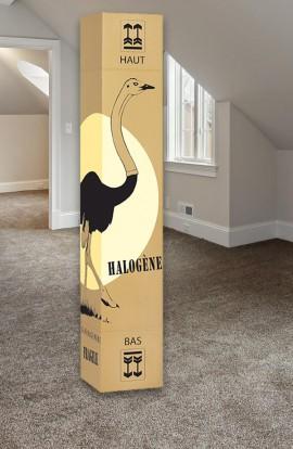 Carton pour lampe Halogène - Carton de déménagement chez Top Carton