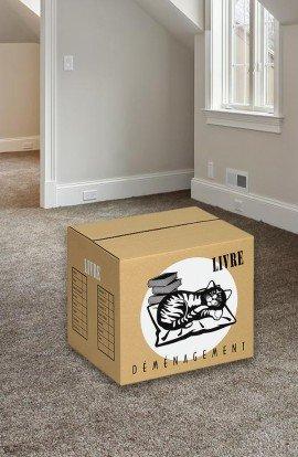 Carton à livres - Carton de déménagement chez Top Carton