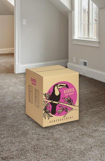 Carton de déménagement Barrel Petit Modèle - Carton de déménagement chez Top Carton