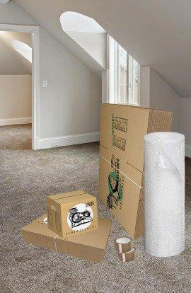 Pack de 20 Cartons à Livres et 20 Cartons Renforcés - Carton de déménagement chez Top Carton