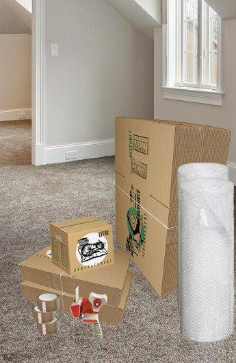 Pack de 40 Cartons à Livres et 40 Cartons Renforcés - Carton de déménagement chez Top Carton