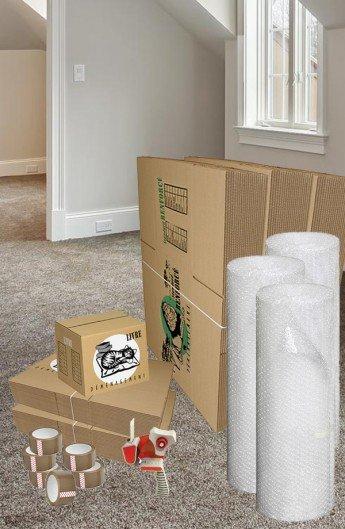 Pack de 40 Cartons à Livres et 60 Cartons Renforcés - Carton de déménagement chez Top Carton