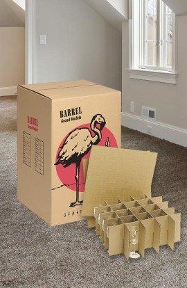 Pack de Carton 100 verres - Carton de déménagement chez Top Carton